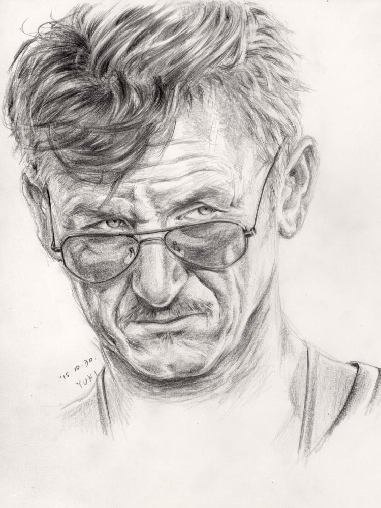 Sean Penn por Yuki